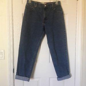 Vintage high-waisted mom jeans 550 Levi's